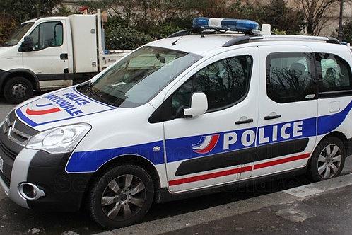 Voiture Police : Berlingo