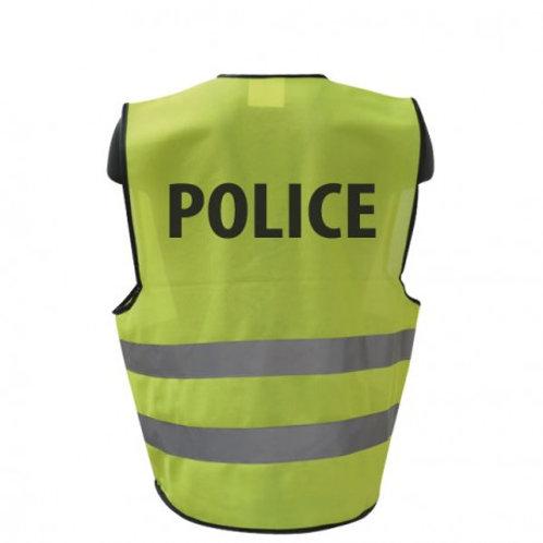 Gilet Jaune Police