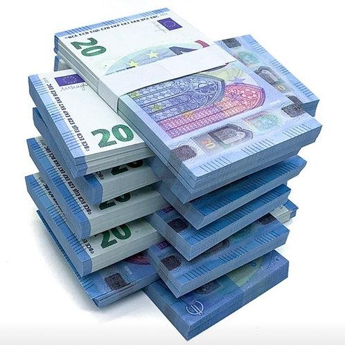 1 Liasse de 20€ : 60 Billets [15]