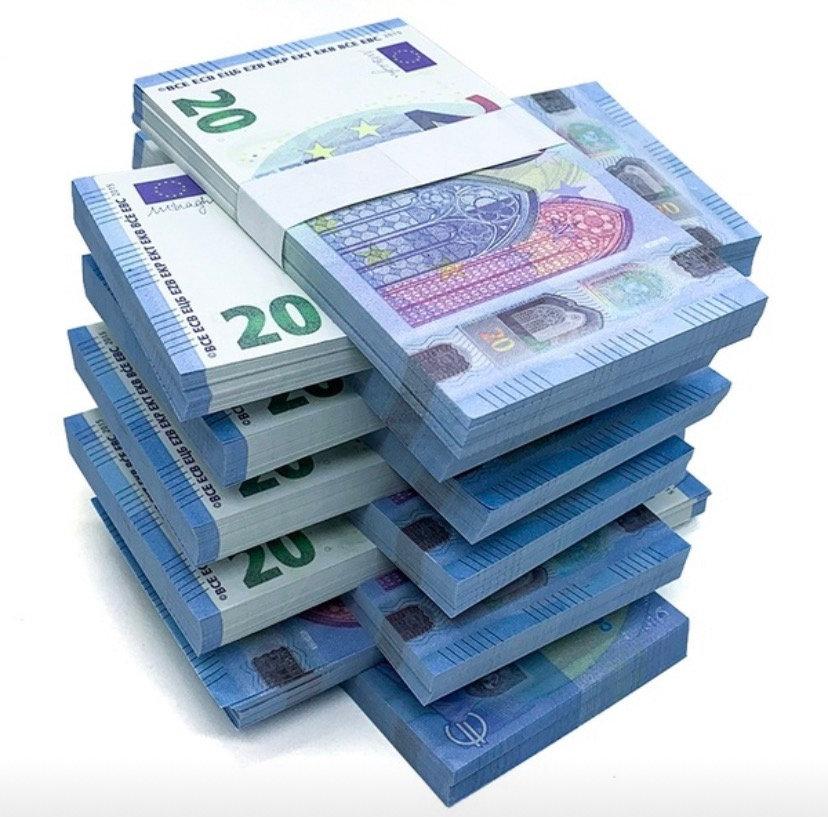1 Liasse de 20€ : 60 Billets [15] | artstreet-equipement
