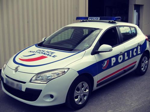 Voiture Police : Megane 3