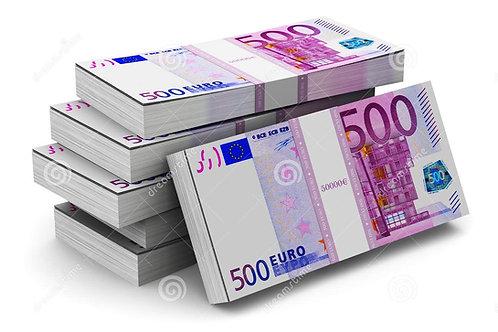 1 Liasse de 500€ : 60 Billets [15]