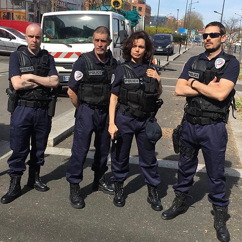 Pack 4 Costumes Police V2 [500]