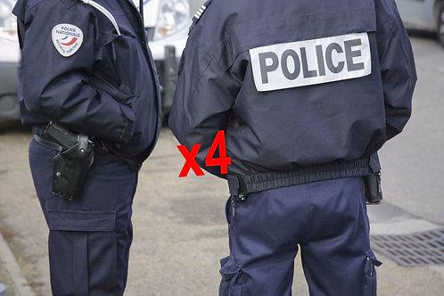 4 Costumes Police V5 [600]