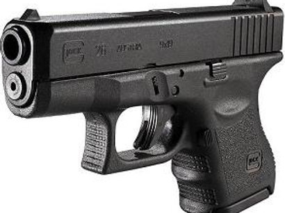 Glock 26 - Compact 9mm
