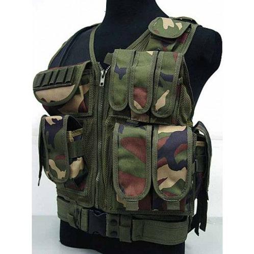 Gilet Tactique : V1 Camouflage