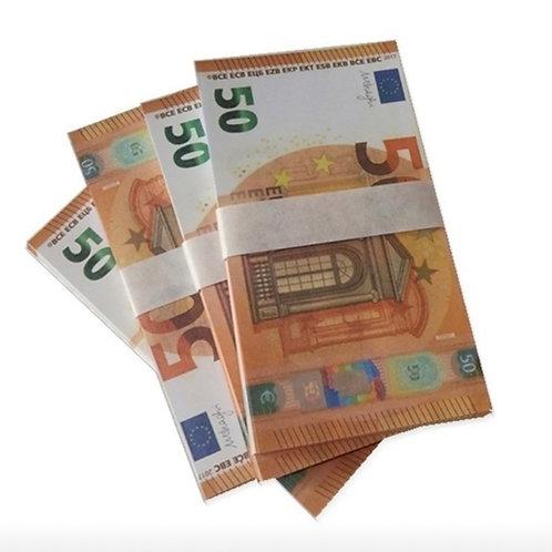 1 Liasse de 50€  : 60 Billets [15]