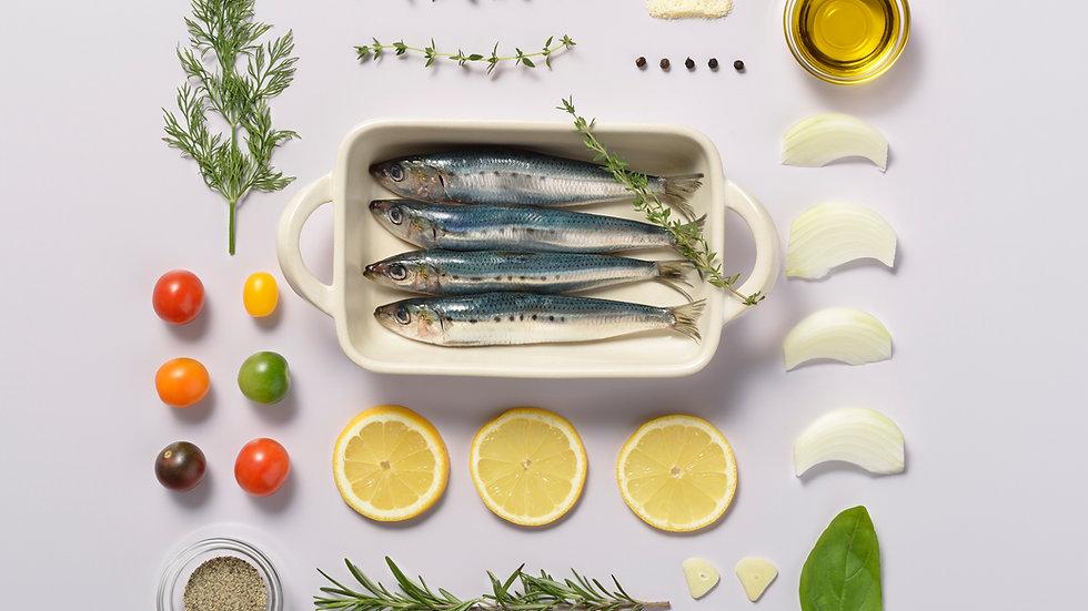 Sardines à l'huile d'olive Saint Georges