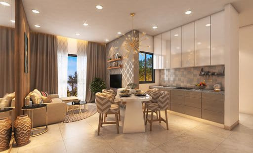1BHK LODHA GOLDEN DREAM - ORCHID