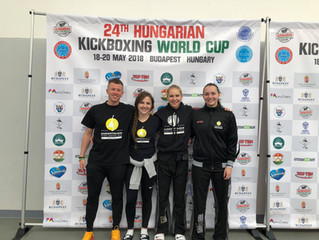Rückkehr vom Hungarian Kickboxing World Cup