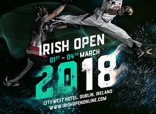 Timmy auf dem Cover der Irish Open 2018!
