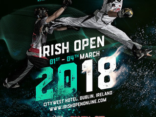 Timmy auf dem Cover der Irish Open 2018!
