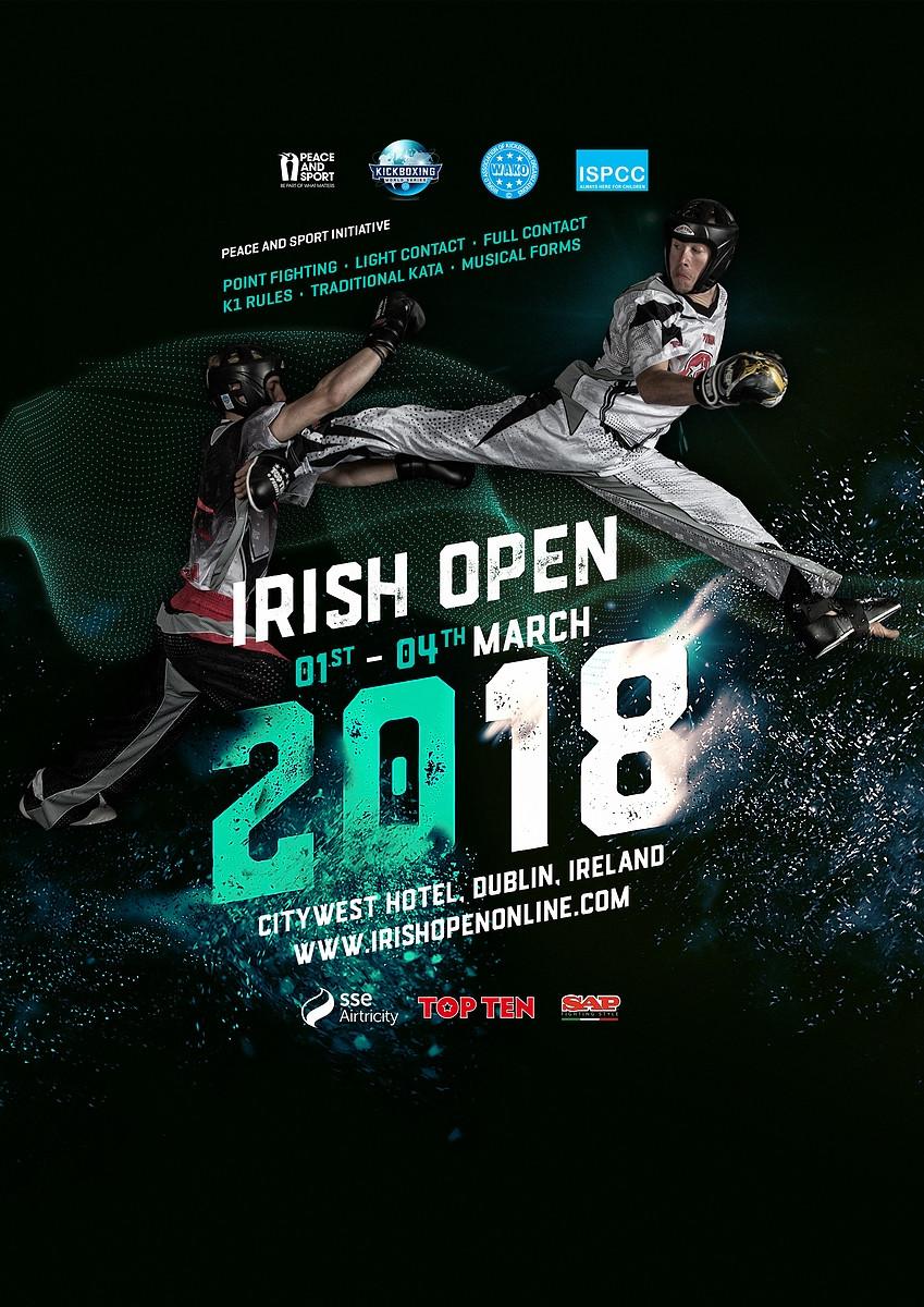 Timmy Sarantoudis Irish Open 2018