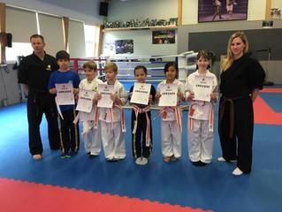 S-SMAC Karate Gürtelprüfung