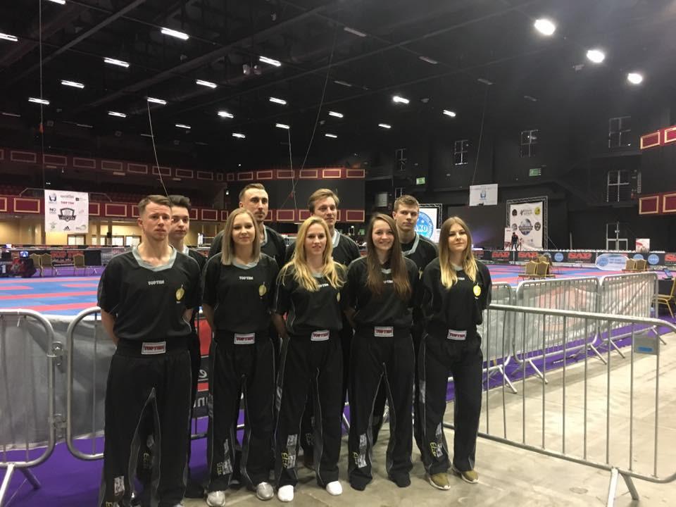 S-SMAC Team auf der Irish Open 2017