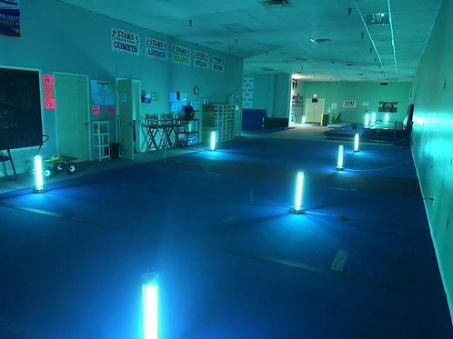 UV-C Disinfection Anti-Microbial light: schools, rooms, churches, offices, etc.