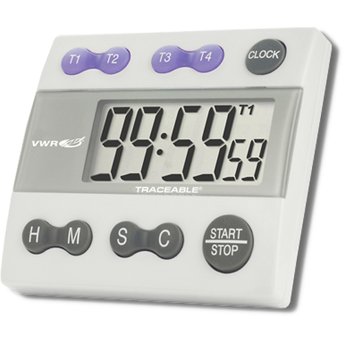 Kool Lab's Traceable Four-Channel Alarm Timer