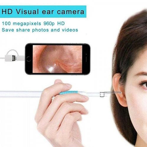 3 In 1 Ear Cleaning Endoscope USB 5.5mm Visual Earpick HD Camera Otoscope