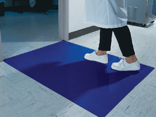 Clean Room Mat to guard against contamination and reduce facility maintenance.