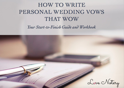 how to write personal wedding vows that wow