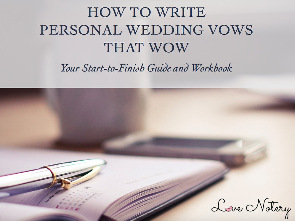 Personal Wedding Vows.How To Write Personal Wedding Vows That Wow