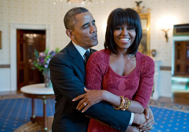 Barak and Michelle Obama love