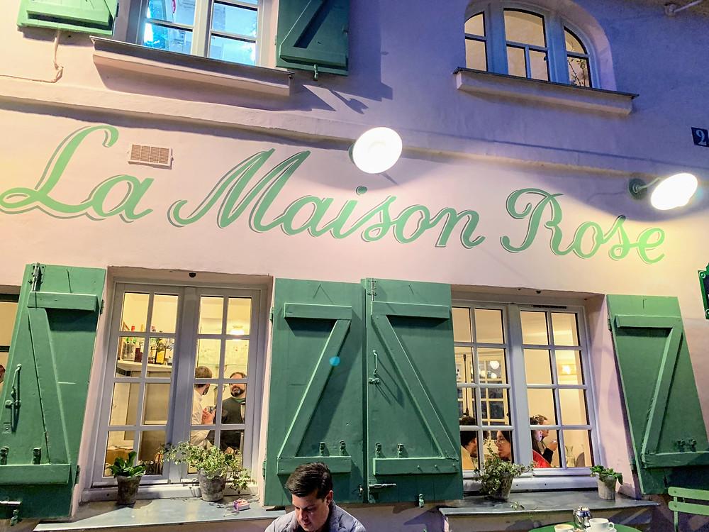 Cutest coffee shop in Montmartre