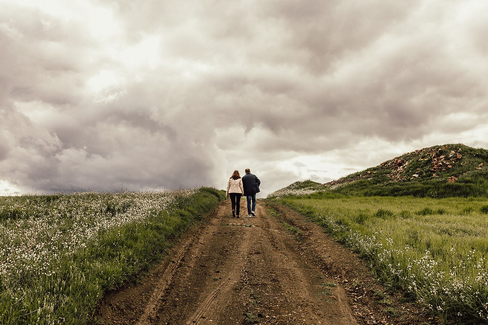 couple on hike