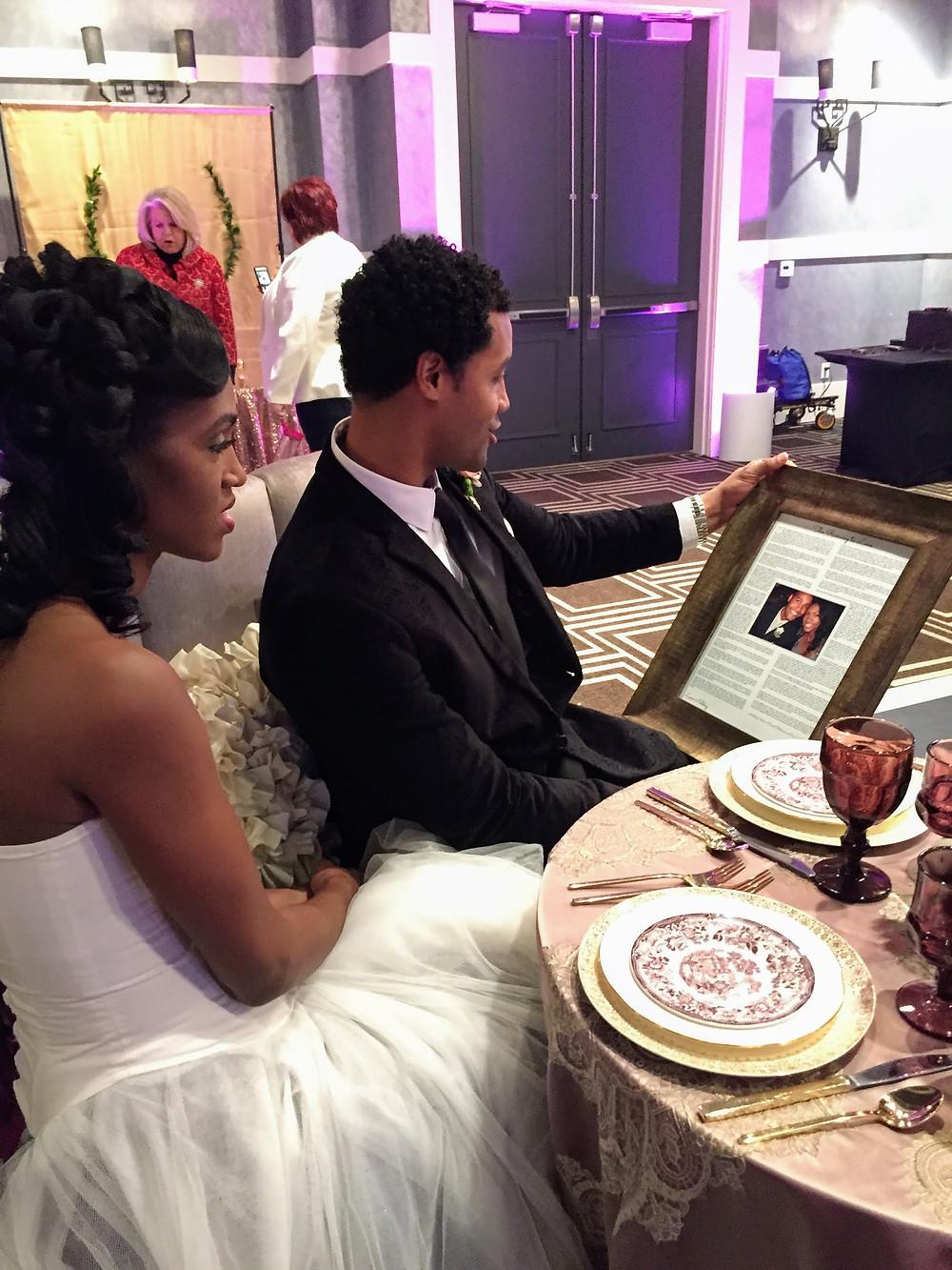 Love Lesson of Ronnel and Tinika Atlanta Big Fake Wedding