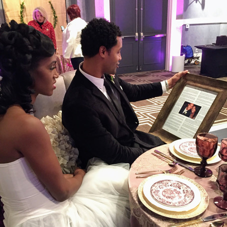A Great Love Lesson Inspired by Tinika and Ronnel, The Real Couple Who Renewed Their Vows At The Atl