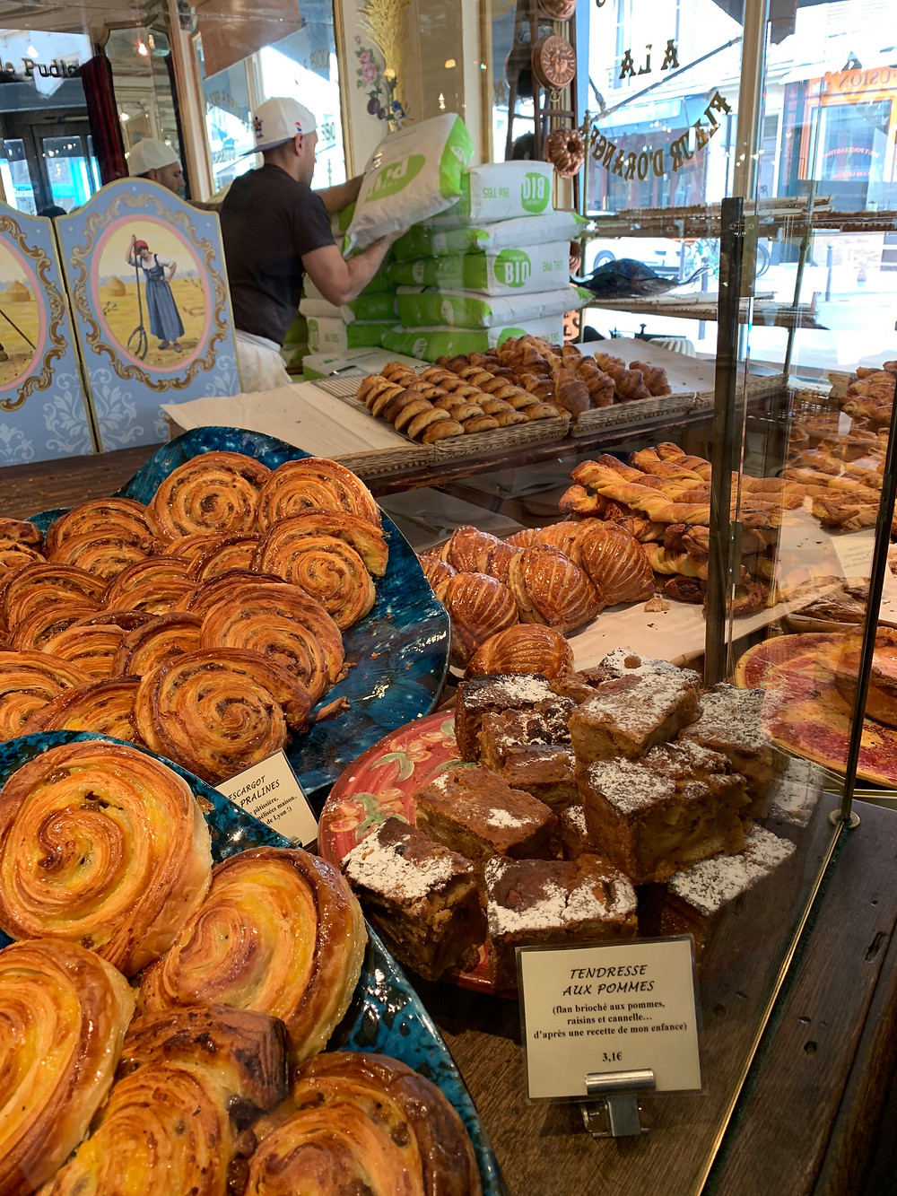 Pastries for days