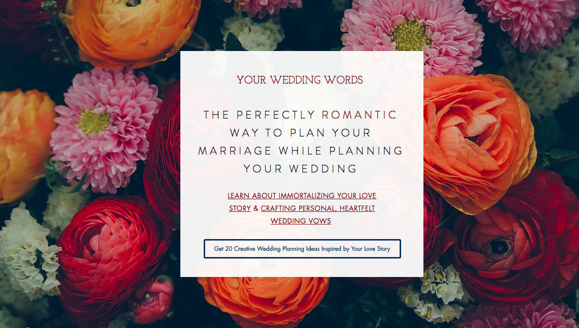 Personal Wedding Vows.Master Your Wedding Vows Love Notery