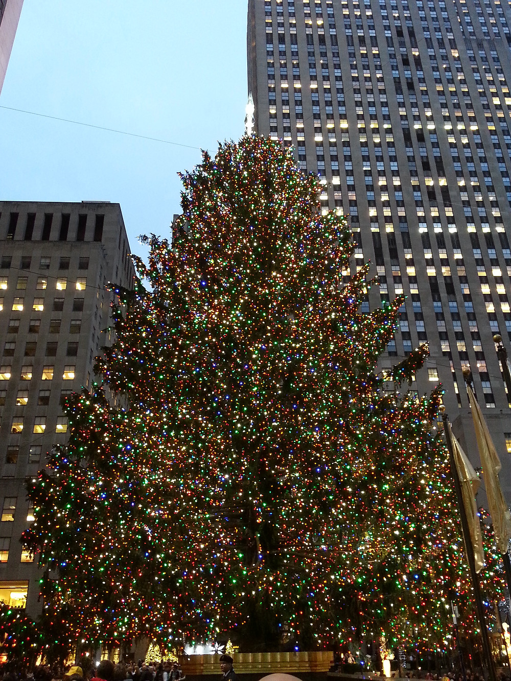 New York City at Christmastime