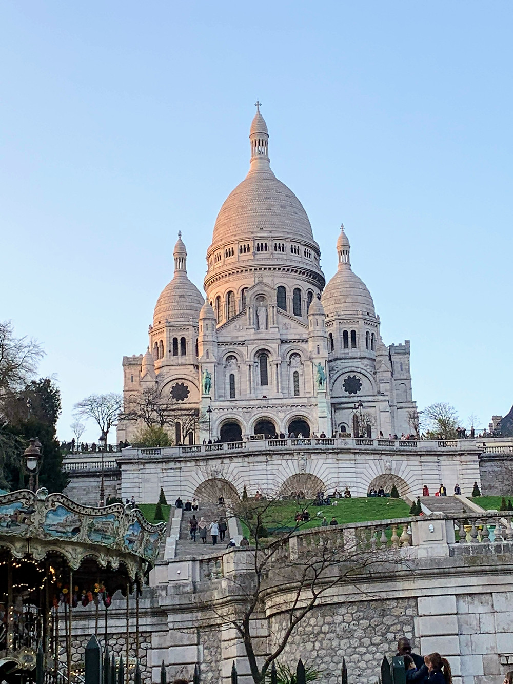 Sacre-Couer in Montmartre