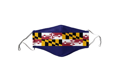 Raven Maryland Flag Stripe Team Mask
