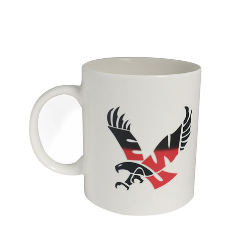 eastern washington university ewu eagles logo color changing coffee mug heat sensitive hot