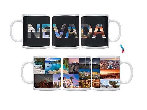 State of Nevada ThermoH Exray Mug