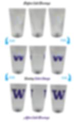 University of Washington Pint Glass Amaz