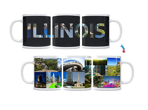 State of Illinois ThermoH Exray Mug