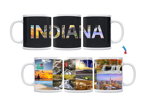 State of Indiana ThermoH Exray Mug