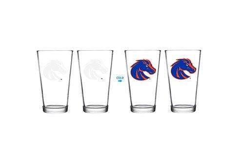 Boise State University ThermoC Logo Pint Glass