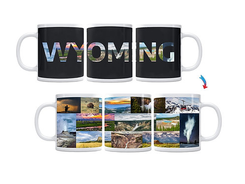 State of Wyoming ThermoH Exray Mug