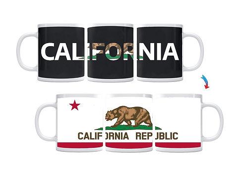 California Flag ThermoH Exray Coffee Mug