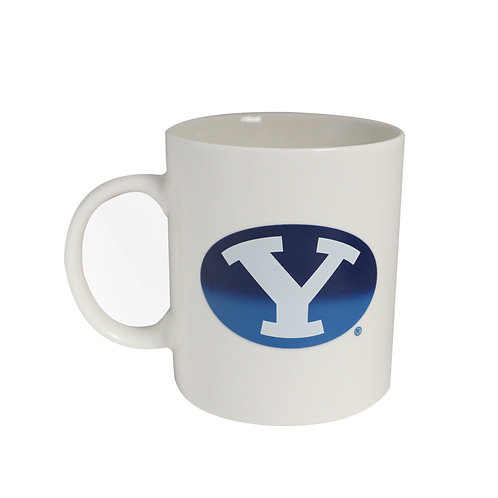 BYU brigham young cougars logo color changing coffee mug heat sensitive hot