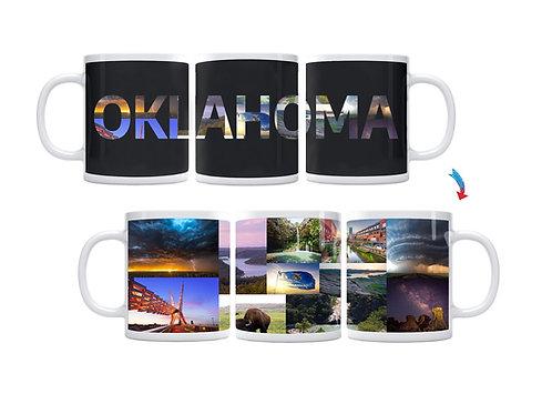 State of Oklahoma ThermoH Exray Mug