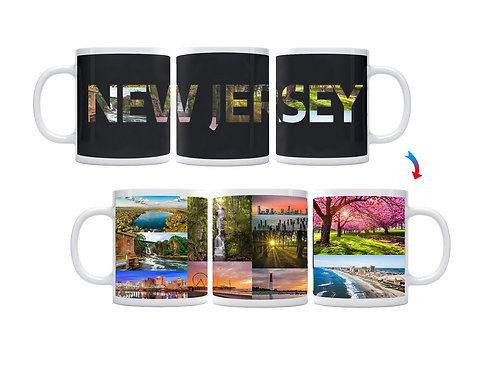 State of New Jersey ThermoH Exray Mug