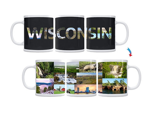 State of Wisconsin ThermoH Exray Mug