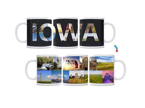 State of Iowa ThermoH Exray Mug