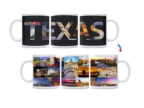 State of Texas ThermoH Exray Mug