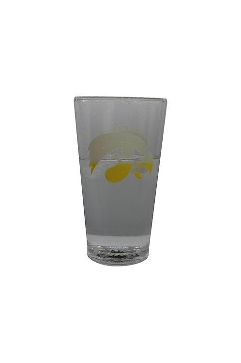 University of Iowa ThermoC Logo Pint Glass